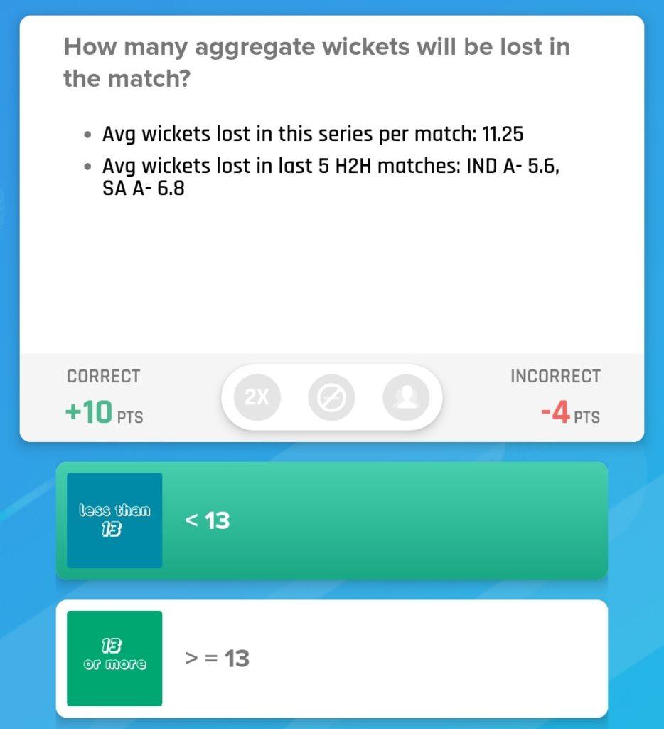 IND-A vs SA-A 2019 - 5th ODI Nostragamus Picks