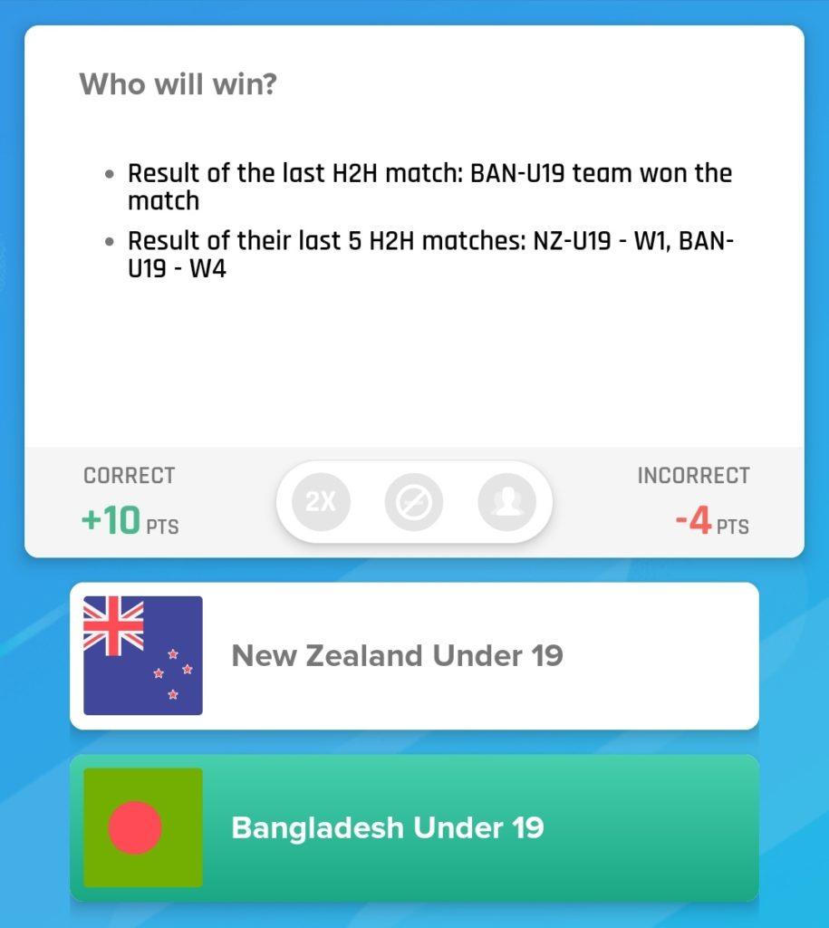 NZ U19 vs BAN U19 2019 - 3rd ODI Nostragamus Picks