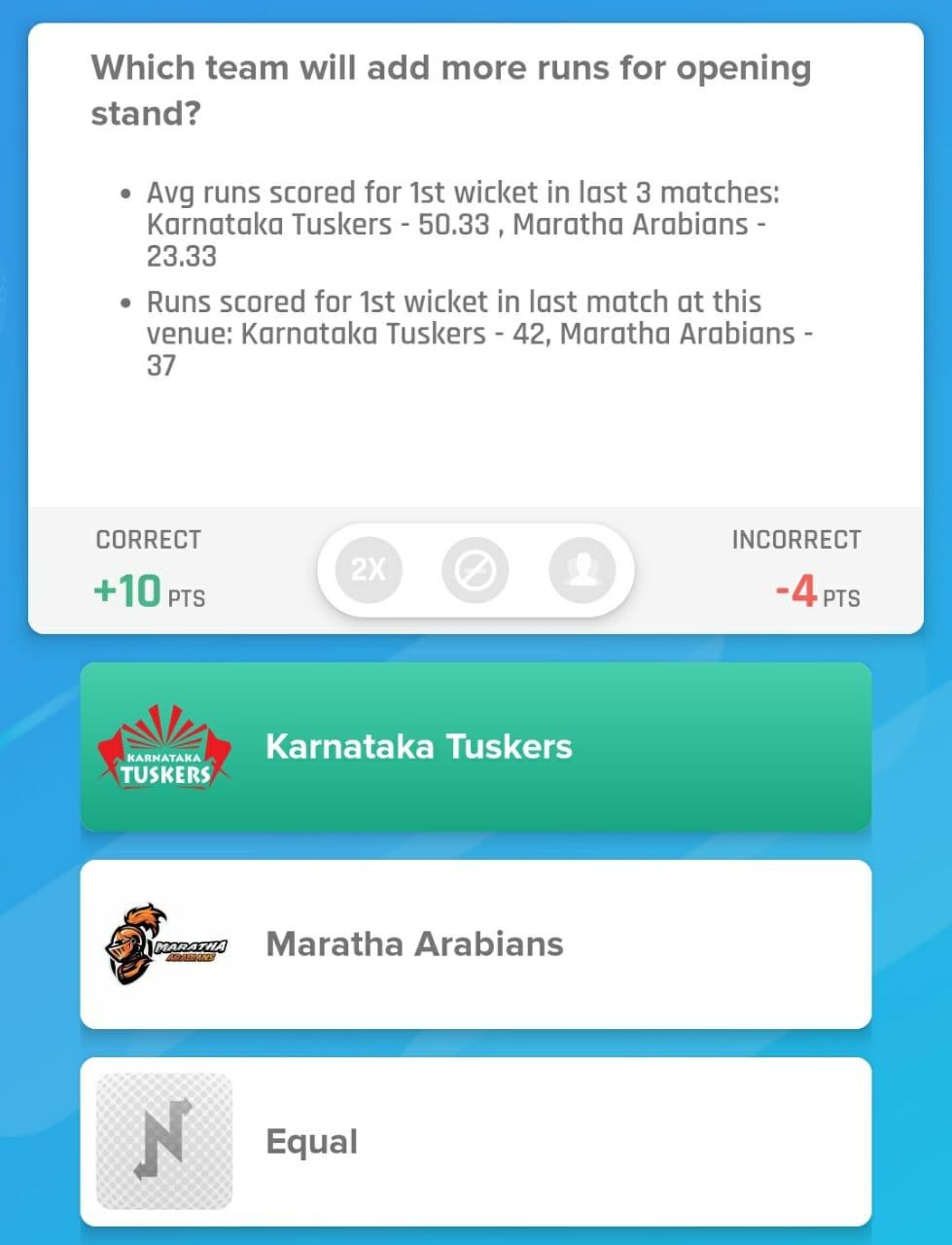 T10 League 2019 Match 16 - KAT vs MAR Nostragamus Pick