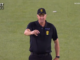 Umpire George Davidson in BBL 2019