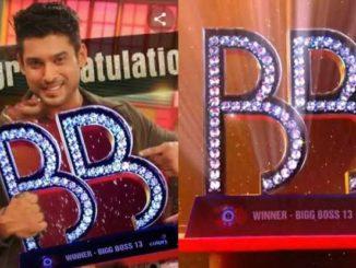 Sidharth Shukla wins Bigg Boss 13 title